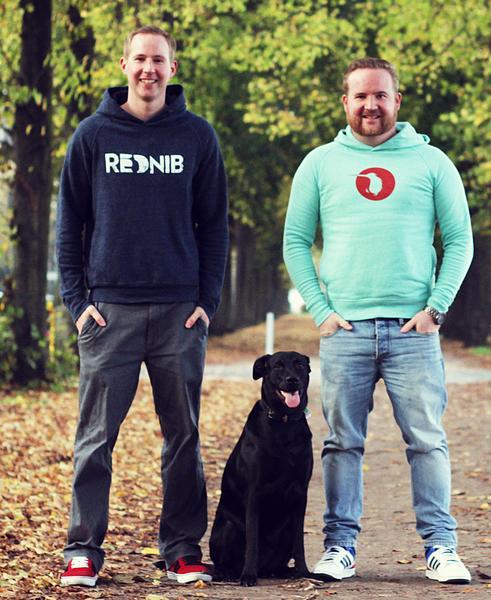 Rednib. Tobias und Sebastian